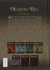 Verso de Détectives (Hanna) -4'- Martin Bec - La cour silencieuse