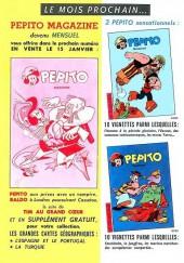 Verso de Pepito (3e Série - SAGE) (Pepito Magazine - 2e série) -1- Le chien du gouverneur