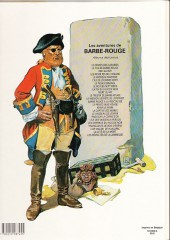 Verso de Barbe-Rouge -22a1983- Trafiquants de bois d'ébène