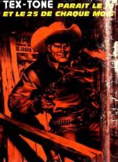 Verso de Tex-Tone -344- La pièce de monnaie brisée