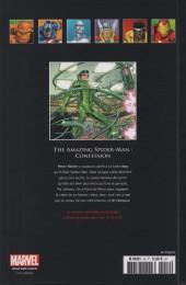 Verso de Marvel Comics - La collection (Hachette) -4230- The Amazing Spider-Man - Confession