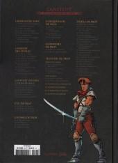 Verso de Lanfeust et les mondes de Troy - La collection (Hachette) -17- Lanfeust Odyssey - L'énigme Or-Azur (I)