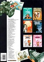 Verso de Spirou et Fantasio -1d2003/12- 4 aventures de Spirou ...et Fantasio