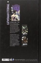 Verso de Catwoman Eternal -1- Reine du Crime