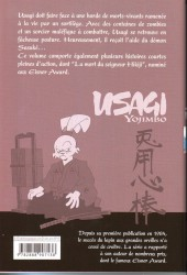 Verso de Usagi Yojimbo -26- Volume 26