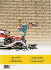 Verso de Garage Isidore -7a2002- Les complices de la clé plate