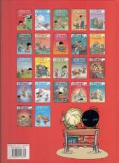 Verso de Cédric -1c2008- Premières classes