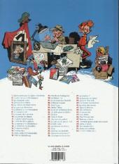Verso de Spirou et Fantasio -HS04a12- Fantasio et le fantôme (et 4 autres aventures)