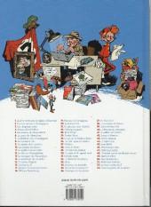 Verso de Spirou et Fantasio -HS03a13- La voix sans maître (et 5 autres aventures)