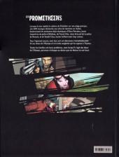 Verso de Les prométhéens -2- Les Enfants terribles