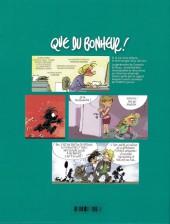 Verso de Que du bonheur ! -INT01- Petit traité des familles recomposées - Volume 1