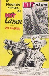 Verso de Kit Carson -15- La guerre des marais