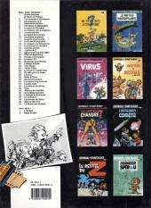 Verso de Spirou et Fantasio -19a1989- Panade à Champignac