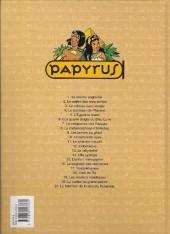 Verso de Papyrus -18a98a- L'œil de Ré