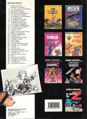 Verso de Spirou et Fantasio -9b1987- Le repaire de la murène