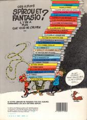 Verso de Spirou et Fantasio -1d1983- 4 aventures de Spirou ...et Fantasio