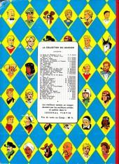 Verso de Modeste et Pompon (Franquin) -1'Cong- 60 aventures de Modeste et Pompon