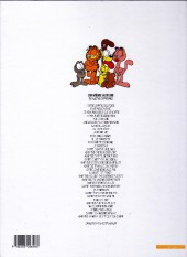 Verso de Garfield -28a2002- Garfield fait des vagues