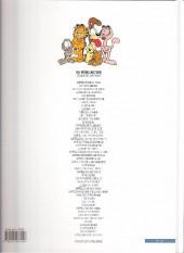 Verso de Garfield -10d2008- Tiens bon la rampe