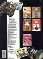 Verso de Spirou et Fantasio -6c1991- La corne de rhinocéros