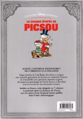 Verso de La grande Épopée de Picsou -6- Tome VI - La Vallée interdite et autres histoires