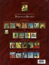 Verso de Le triangle secret - Lacrima Christi -1- L'Alchimiste