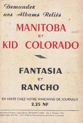 Verso de Rancho (spécial) -HS- Spécial 8/61 : Black Boy espionnage à Cap Canaveral