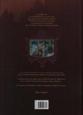 Verso de Les enquêtes du Misterium -2- Les Quatre de l'apocalypse