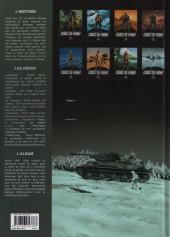 Verso de Lignes de front (Pécau) -8- Enfer blanc sur Leningrad