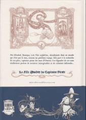 Verso de La fille Maudite du Capitaine Pirate -1a- Volume premier