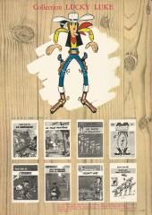Verso de Lucky Luke -16b81- En remontant le Mississipi