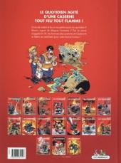 Verso de Les pompiers -15- Tonnerre de braise
