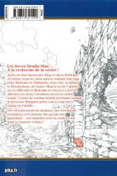 Verso de Seven Deadly Sins -11- Tome 11