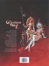 Verso de Les guerrières de Troy -INT- Intégrale