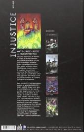 Verso de Injustice - Les Dieux sont parmi nous -4- Année 2 - 2e partie