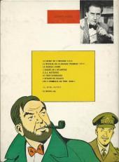 Verso de Blake et Mortimer (Historique) -5d78'- La marque jaune