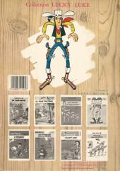 Verso de Lucky Luke -17b86- Sur la piste des Dalton
