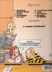 Verso de L'Élève Ducobu -5a2001- Le Roi des cancres