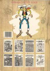 Verso de Lucky Luke -21b86- Les Collines noires
