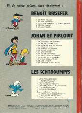 Verso de Les schtroumpfs -1a72- Les Schtroumpfs noirs