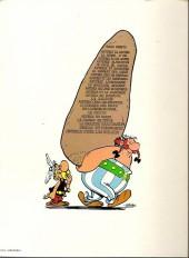 Verso de Astérix -8d1983- Astérix chez les Bretons