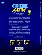 Verso de Capitaine Static - Tome 1