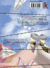 Verso de Prisoner & paper plane -3- Volume 3