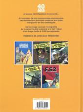 Verso de Freddy Lombard - Tome INT