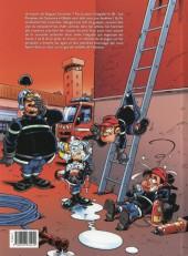 Verso de Les pompiers -INT04- Intégrale 4