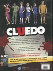 Verso de Cluedo -2- Croisière meurtrière