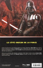 Verso de Star Wars - Dark Vador (Panini Comics - 100% Star Wars) -1- Vador