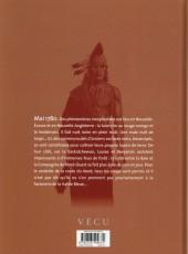 Verso de Les pionniers du Nouveau Monde -20- Nuit de loups