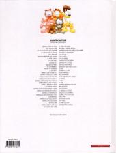 Verso de Garfield -61- Perd la boule