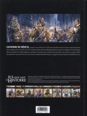 Verso de Ils ont fait l'Histoire -11- Catherine de Médicis